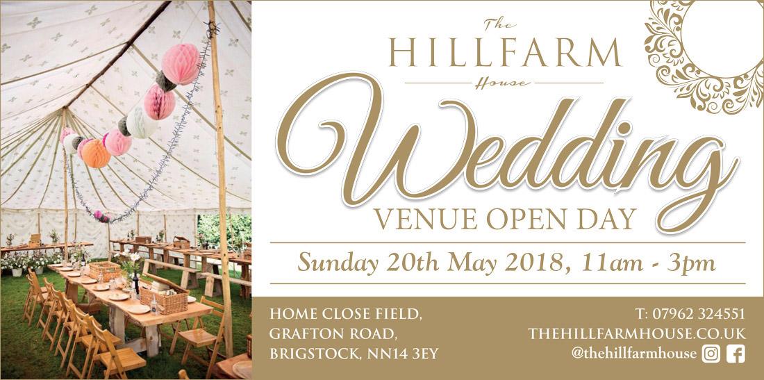 Wedding Venue Open Day Sun 20th May The Hill Farm House