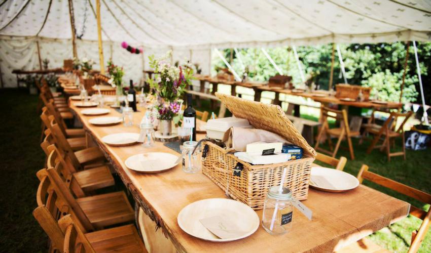 Choosing a Wedding Venue - Theme and Colours - The Hill Farm House